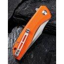 CIVIVI Baklash Orange - 9Cr18MoV Stahl G10 Griffschalen Kugellager Flipper