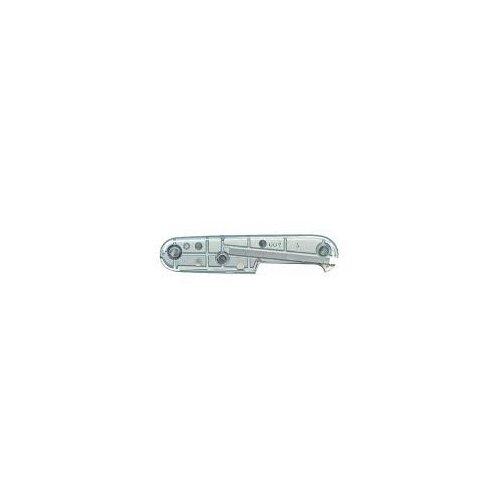 Victorinox Griffschale 91 mm transparent silber hinten