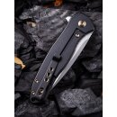 WE Knife Kitefin WE2001 CPM S35VN Stahl Titan Black  Keramikkugellager