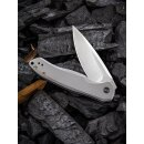WE Knife Kitefin WE2001 CPM S35VN Stahl Satin Titan Grau...