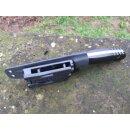 WOC Gen II Wanger Outdoor Cutter 9Cr18MoV HRC 58 - 60 Jimping Schwarz-Grün