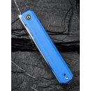 CIVIVI Exarch C2003 D2 Stahl Satin G10 Blau Keramikkugellager