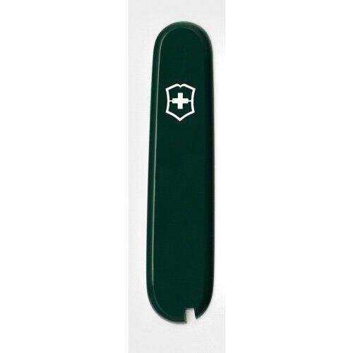 Victorinox Griffschale 91 mm Moosgrün vorn + Logo