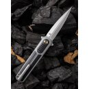WE Knife Angst WE2002 CPM-S35VN Stahl Stonewashed   G10...