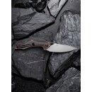 CIVIVI Plethiros154CM Stahl Satin Kupfer Griff schwarz Elijah Isham Vollmetall C904D