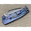 Midgards Messer THE VIKING FOLDER D2 Stahl Titan Limited Edition - Richtig groß 24,5 cm