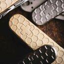 Daily Customs Messing Griffschalen Honeycomb 2D für...