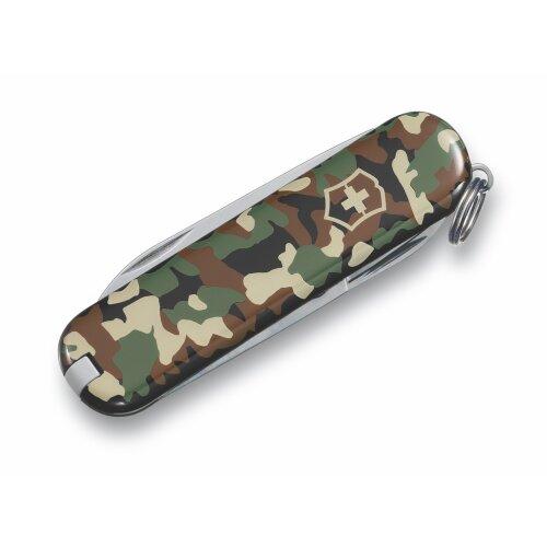 Victorinox Classic SD Camouflage kleines Taschenwerkzeug Schweizermesser Schlüsselanhänger Minimesser
