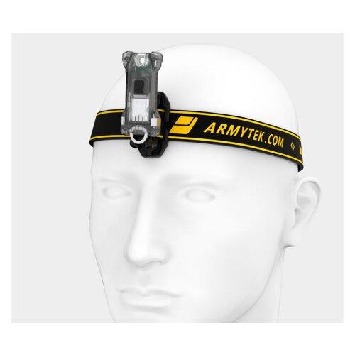 Armytek Zippy Extended Set Stirnlampe Mehrzweckleuchte Grau Onyx