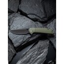 CIVIVI Badlands Vagabond 9Cr18MoV Black Stonewashed...