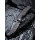 CIVIVI Pintail Damaststahl Black Hand Rubbed  Carbon auf...
