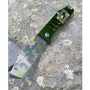 Sanrenmu 7046 Rettungsmesser Aluminum Grün oxidiert...