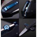 Real Steel H9 Takin Satin Schwarz Blauer Clip