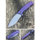 WE Knife WE712B Böhler M390 Stonewash Titan Purple...