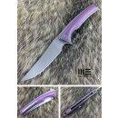 WE Knife WE704A  M390 Böhler Polished Bead Blasted...