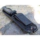 LionSteel black M5 Sleipner HRC >60° Jagdmesser Schwarz Outdoormesser M5BG10