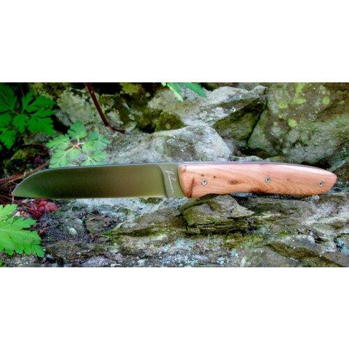 Atelier Perceval L08 Wacholder 19C27 Sandvik Vespermesser Brotzeitmesser