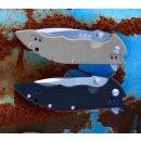 Messer Sanrenmu Black Slip Joint E real Schwedenstahl 12C27 steel 77 9054 SUC-GH Fischermesser