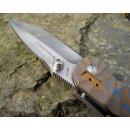 Real Steel H6 Groove Special Edition II Mulitcolor Satin Einhandmesser