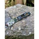 Sanrenmu 7046 Rettungsmesser Aluminium Silber-Gold 8Cr13Mov Stahl Frame-Lock