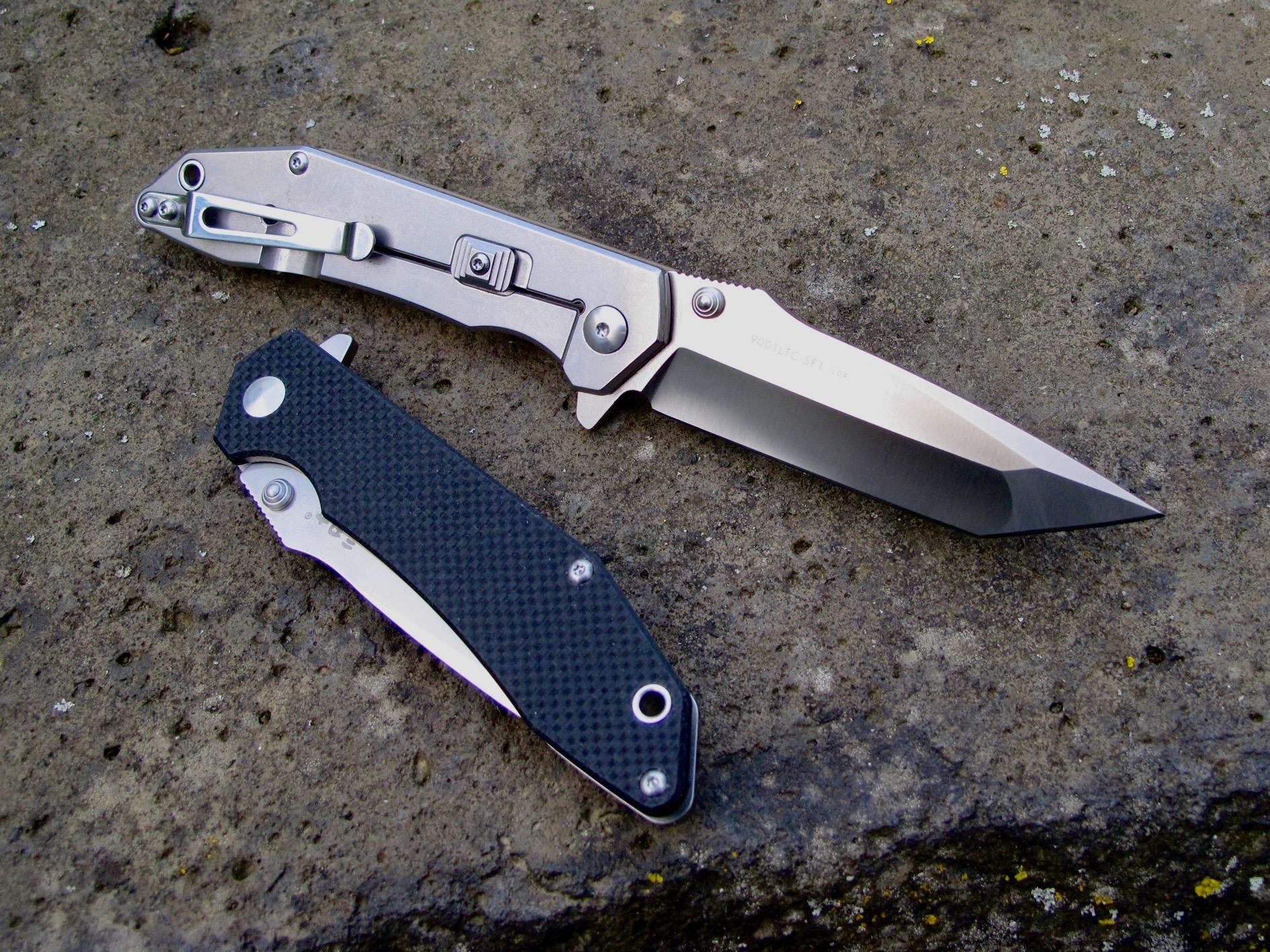 Das erste größere Messer von Sanrenmu  20 cm